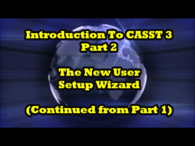 Introduction to CASST 3 video, Part 2 of 7