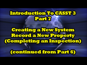 Introduction to CASST 3, Part 7 of 7